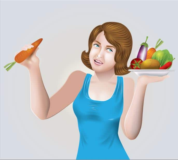 woman-with-vegetables
